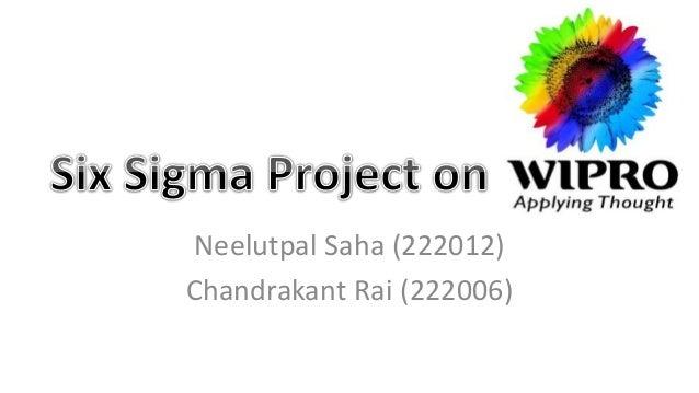Neelutpal Saha (222012) Chandrakant Rai (222006)