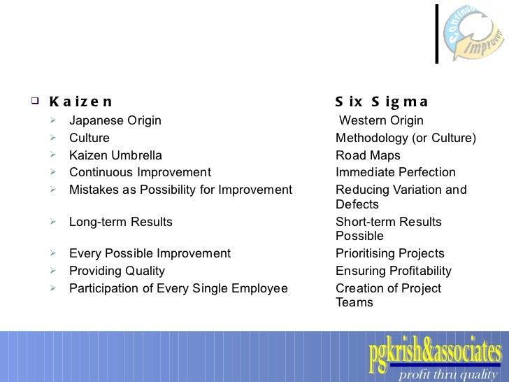 sigma methodology