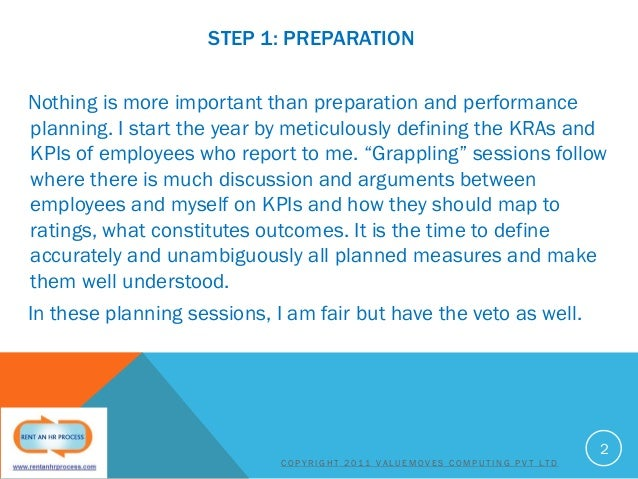STEP 1: PREPARATION Nothing is more important than preparation and performance planning. I start the year by meticulously ...