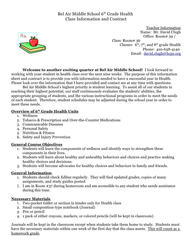 Sixth grade opening_letter_and_syllabus_health1