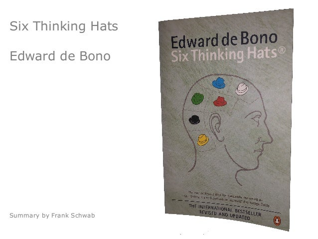 Six Thinking Hats Edward de Bono Summary by Frank Schwab