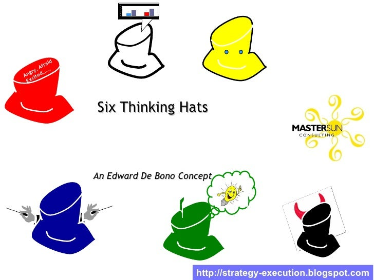 d077f73a02286 Six Thinking Hats For Workplace Effectiveness