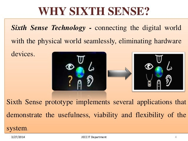 disadvantages of sixth sense technology Struggling readers: what works for intermediate level students dr joseph k torgesen florida state university and the florida center for reading research.