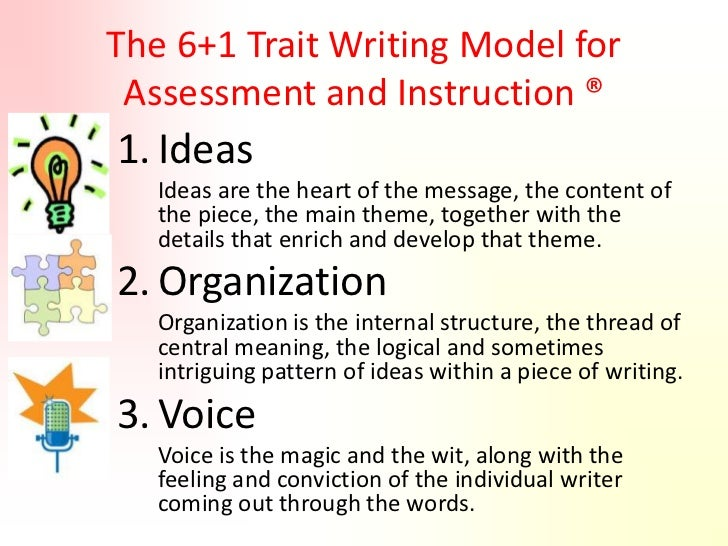 6 traits of writing examples
