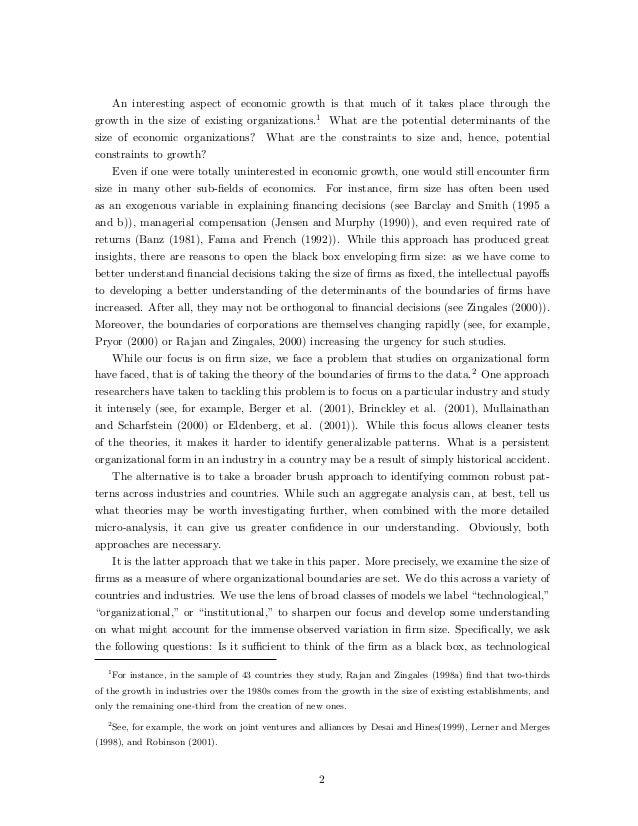 Artikel Original Teori Ukuran Perusahaan Slide 2