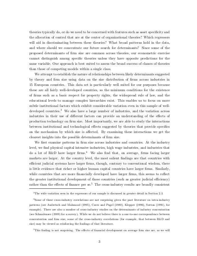 Artikel Original Teori Ukuran Perusahaan Slide 3
