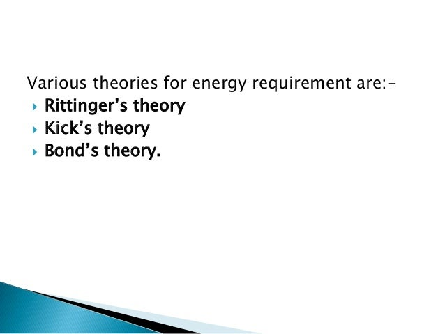 Size reduction theories Slide 3