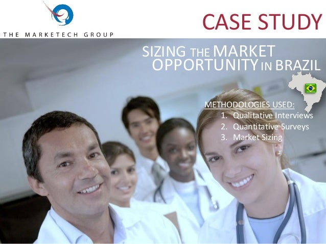 case study the new market opportunity Case study uncovering hidden opportunity  iot technology was new and the market was quickly growing security was a big issue for iot companies the hands-free .