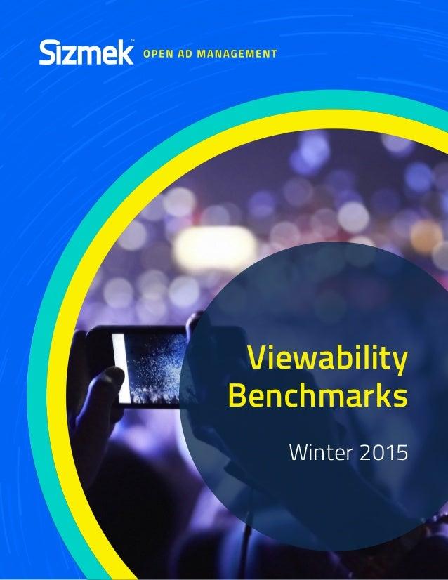 Viewability Benchmarks Winter 2015