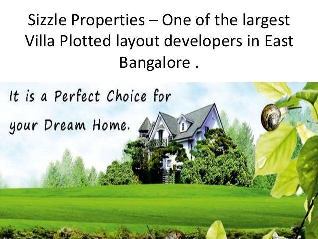 Sizzle properties pvt ltd - Bangalore Slide 2