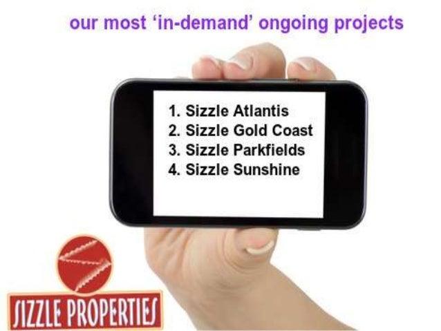 Sizzle properties pvt ltd - Bangalore Slide 3