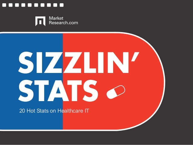 SIZZLIN' STATS20 Hot Stats on Healthcare IT
