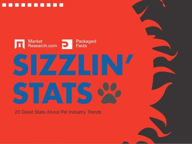 SIZZLIN'STATS20 Great Stats About Pet Industry Trends