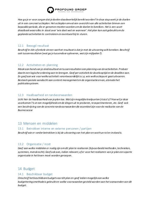 Groß Strategische Account Plan Vorlage Zeitgenössisch ...
