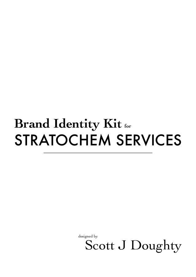 Brand Identity Kit  for  STRATOCHEM SERVICES  designed by  Scott J Doughty