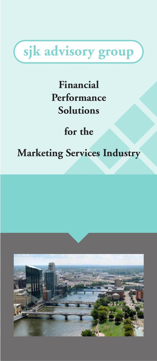 Financial Performance Solutions for the Marketing Services Industry