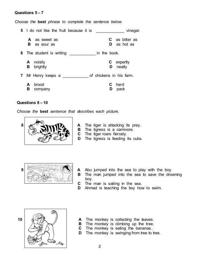 Sjkc Eng Paper 1 Set 2