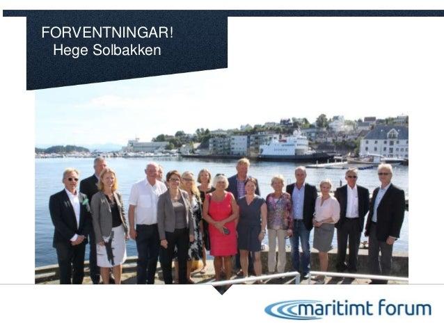FORVENTNINGAR! Hege Solbakken Foto:Solstad-HaakonNordvik