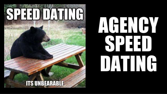 Charlotte and Bear go speed dating!
