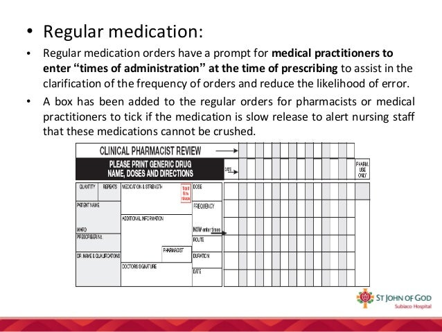 how to make a medication chart