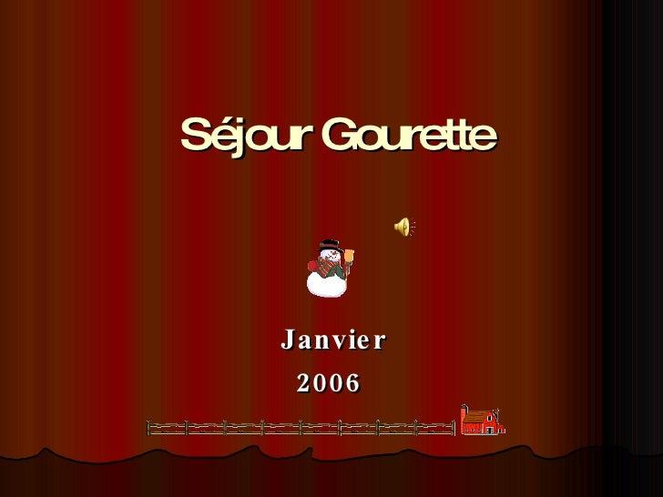 Séjour Gourette Janvier 2006