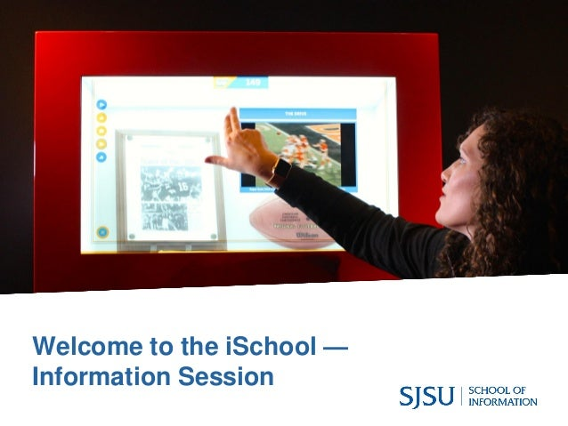 Welcome to the iSchool — Information Session