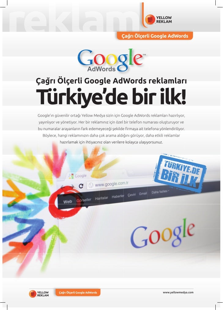 Çağrı Ölçerli Google AdWords