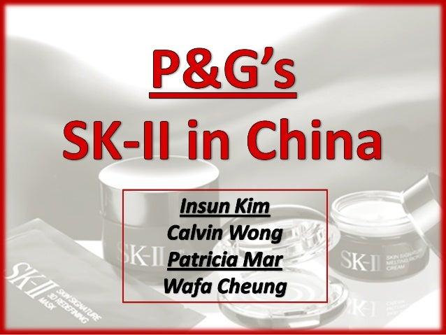 p&g sk ii globalization circumstance study