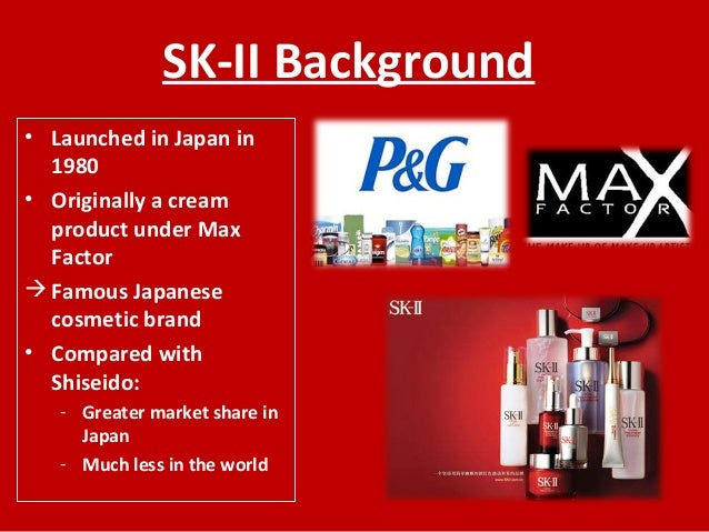 case analysis 5 p g japan the sk ii globalization project View this case study on p& 38 g japan the sk ii globalization project there are a number of factors that paolo decesare needs to take into consideration in.