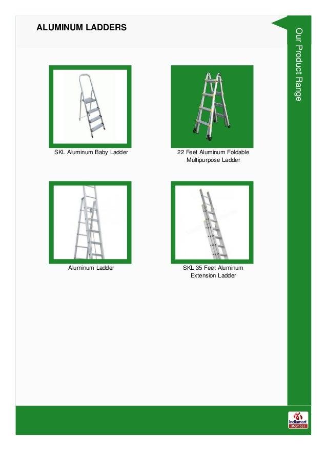 Aluminum Ladders & Stools By SK Ladders Slide 3