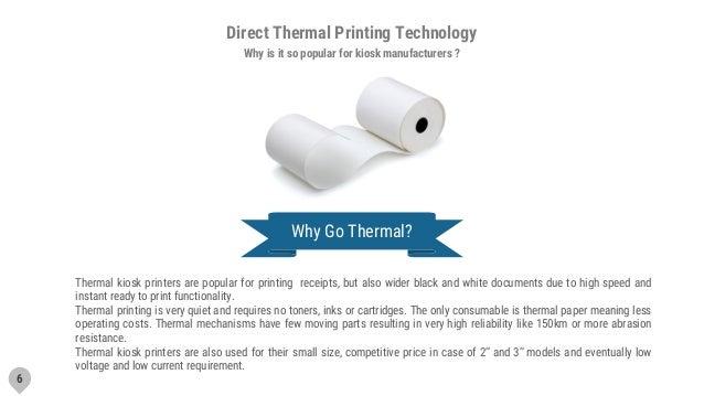 Guide to Kiosk Printers based on direct thermal printing
