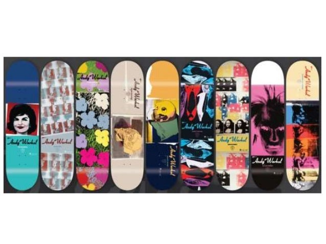 "Skateboard Project • Ground: skateboard deck • Concept: Explore a ""superflat"" aspect of CA culture. • Subject Matter: Crea..."