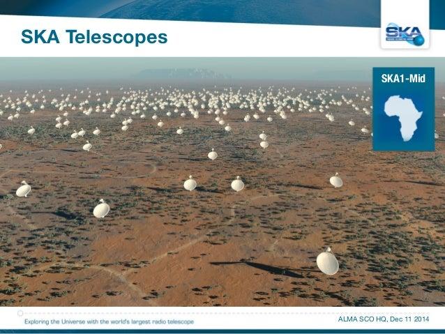 SKA Telescopes  SKA1-Mid  ALMA SCO HQ, Dec 11 2014