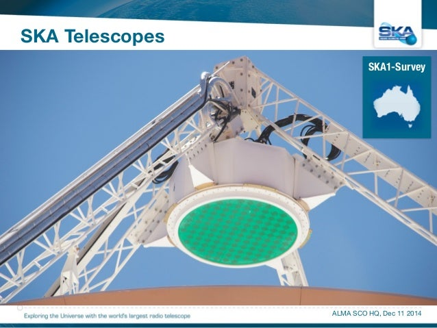 SKA Telescopes  SKA1-Survey  ALMA SCO HQ, Dec 11 2014