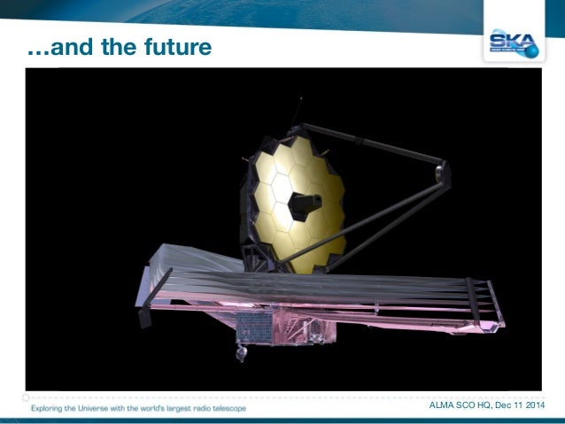 …and the future  • Introduction  • Science  • Site, Telescopes, Technologies  • SKA as an Exaflop Camera  • Engineering Pr...