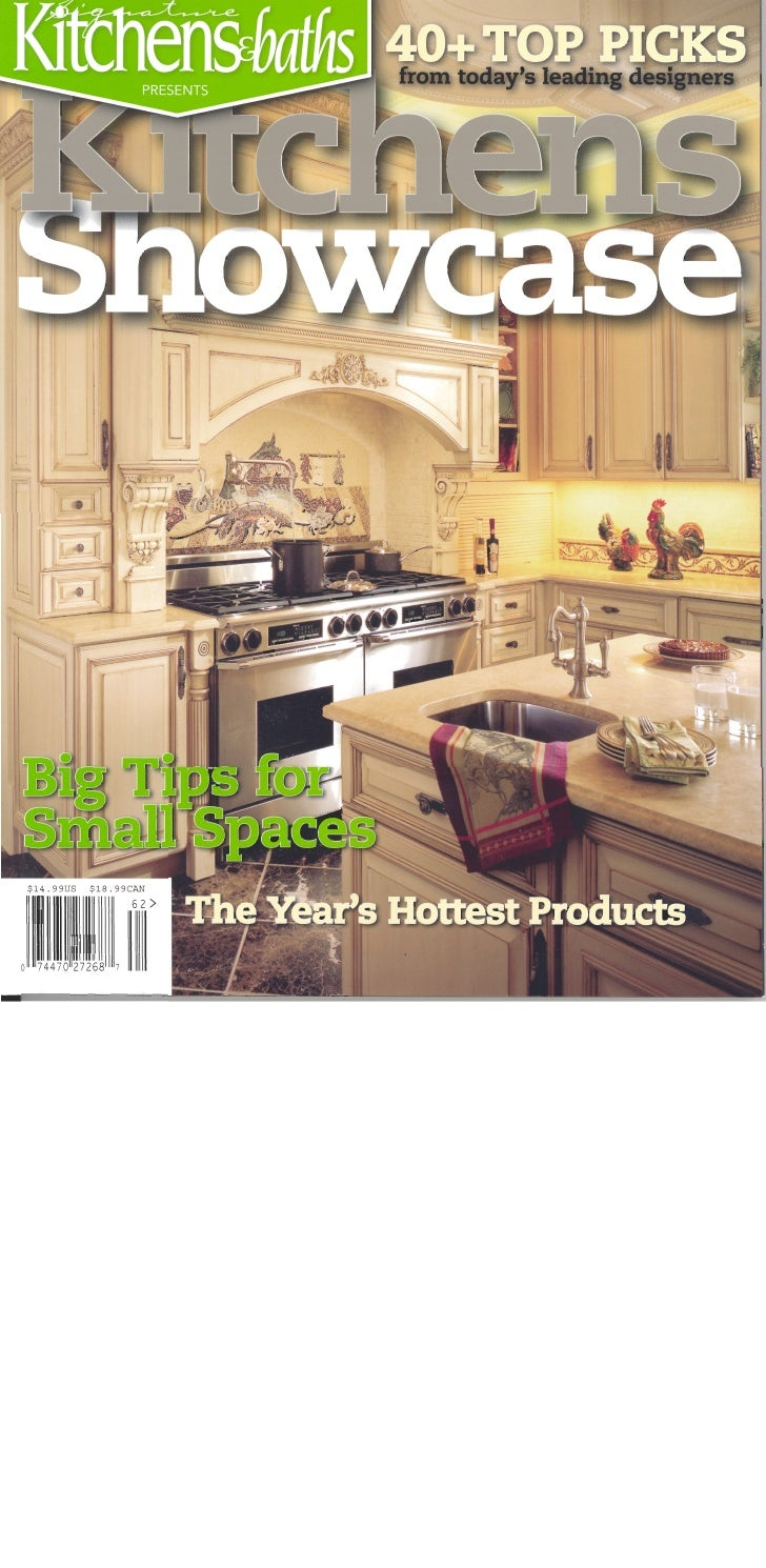 Signature Kitchen & Bath Magazine Cover