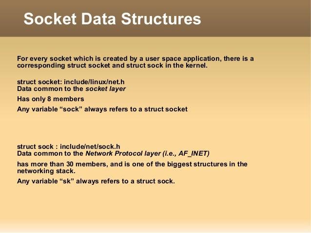 Sockets and Socket-Buffer