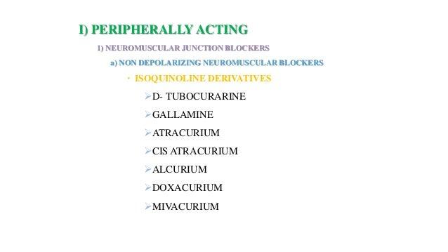 Skeletal muscle relaxants & Spasmolytics dr abdul azeem Slide 2