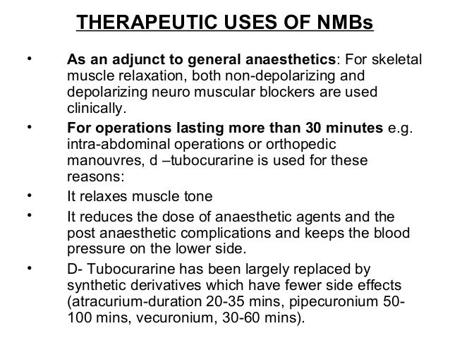 for what muscle relaxants uses