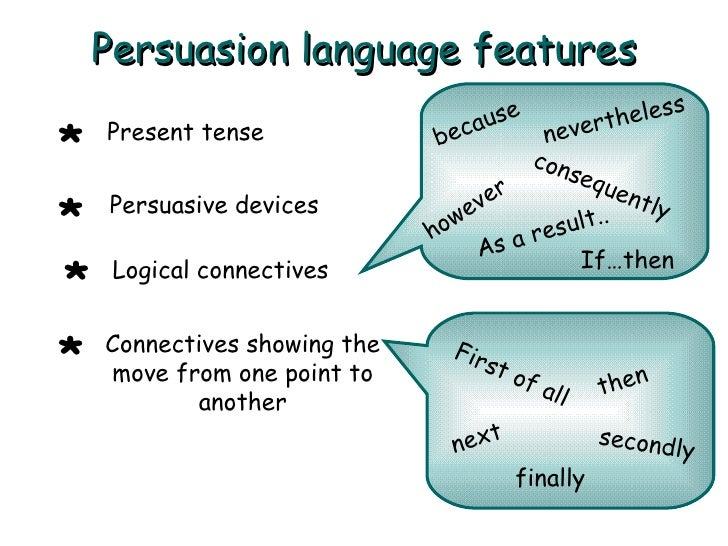 persuasive writing connectives Persuasive texts for naplan 4 – linking words linking words can help make writing persuasive because they here are some examples of types of text connectives.