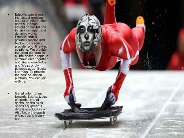 Skeleton sport