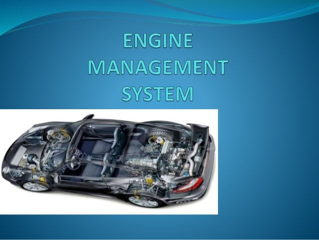 INTRODUCTION  EMS is a type of electronic control unit that  controls the running of an engine by monitoring  the engine ...