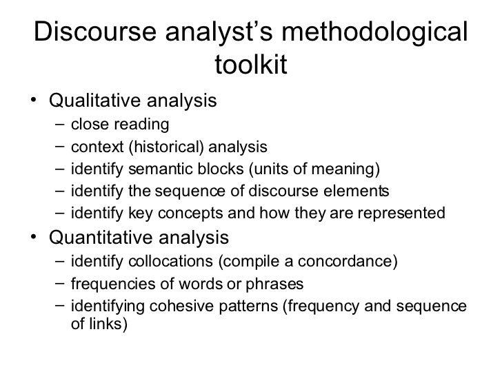 skeptical discourse analysis for non linguists