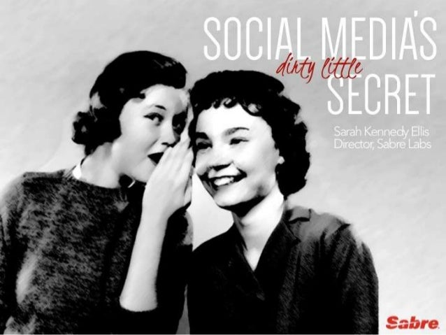 Sarah Kennedy Ellis of Sabre Labs on social media's dirty little secret WTM 2013