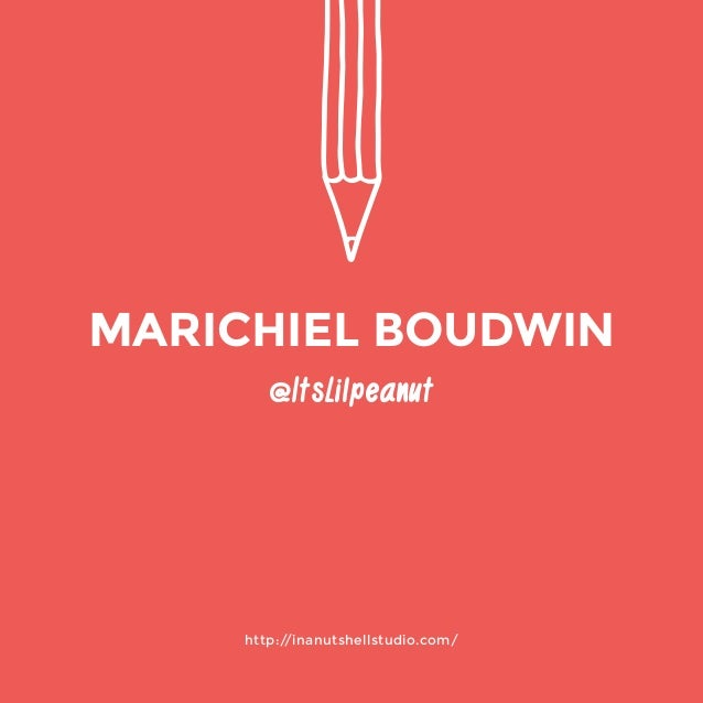 http://inanutshellstudio.com/  @ItsLilpeanut  MARICHIEL BOUDWIN