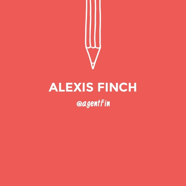 @agentFin  ALEXIS FINCH