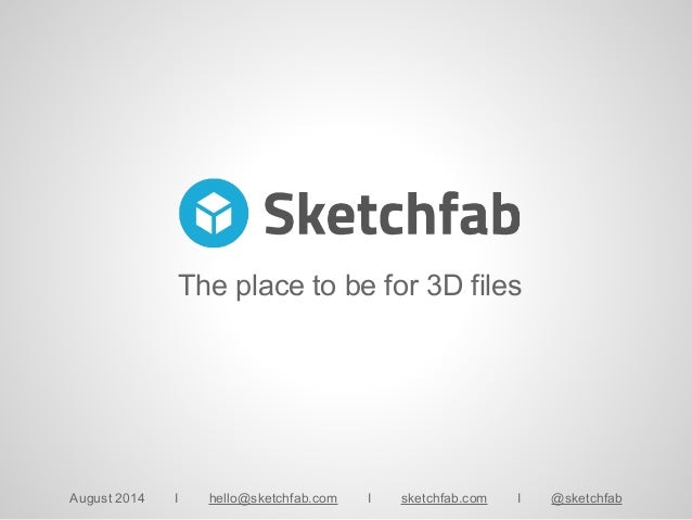 How to publish 3DsMax models online with Sketchfab