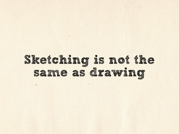 Sketching for Design Slide 2
