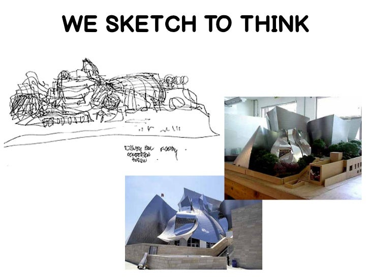 WE SKETCH TO THINK