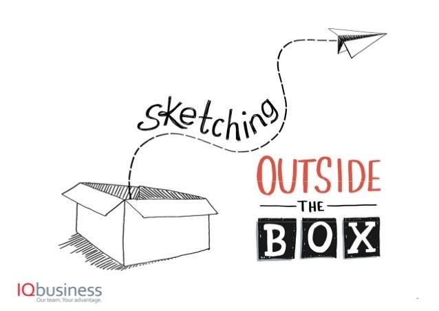 Sketching outside the box Agile 2017 Slide 1